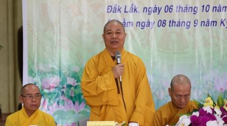 Lễ khai mạc cuộc vận động sáng tác ca khúc Phật giáo khu vực Tây Nguyên (2019-2020)