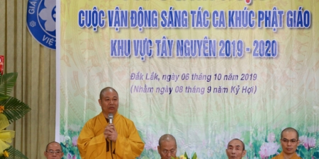 Cuộc vận động sáng tác ca khúc Phật giáo khu vực Tây Nguyên 2019-2020