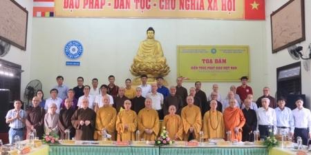 """Tọa đàm khoa học """"Kiến trúc Phật giáo Việt Nam"""" tại thừa thiên Huế."""