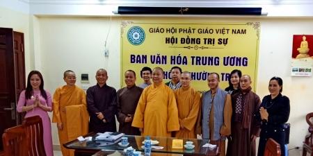 Hà Nội:Ban Văn hoá Trung ương tiếp tục họp triển khai các hoạt động Phật sự Tiểu ban Truyền thông văn hoá Phật giáo phục vụ Đại lễ Phật đản Liên Hợp Quốc - Vesak 2019