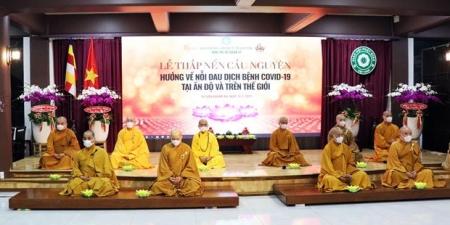 TP.HCM: Thiêng liêng đêm thắp nến nguyện cầu bình an đến người dân Ấn Độ và thế giới trước đại dịch Covid-19