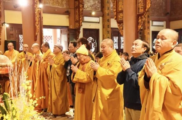 Hà Nội: Tổ đình Yên Phú tổ chức lễ huý kỵ Đức Đệ nhất Pháp chủ Thích Đức Nhuận
